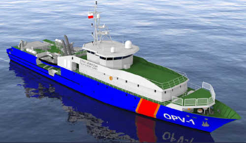 Offshore Patrol Vessel for Poland