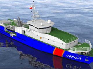 Offshore Patrol Vessel Garde-Côtes Polonais